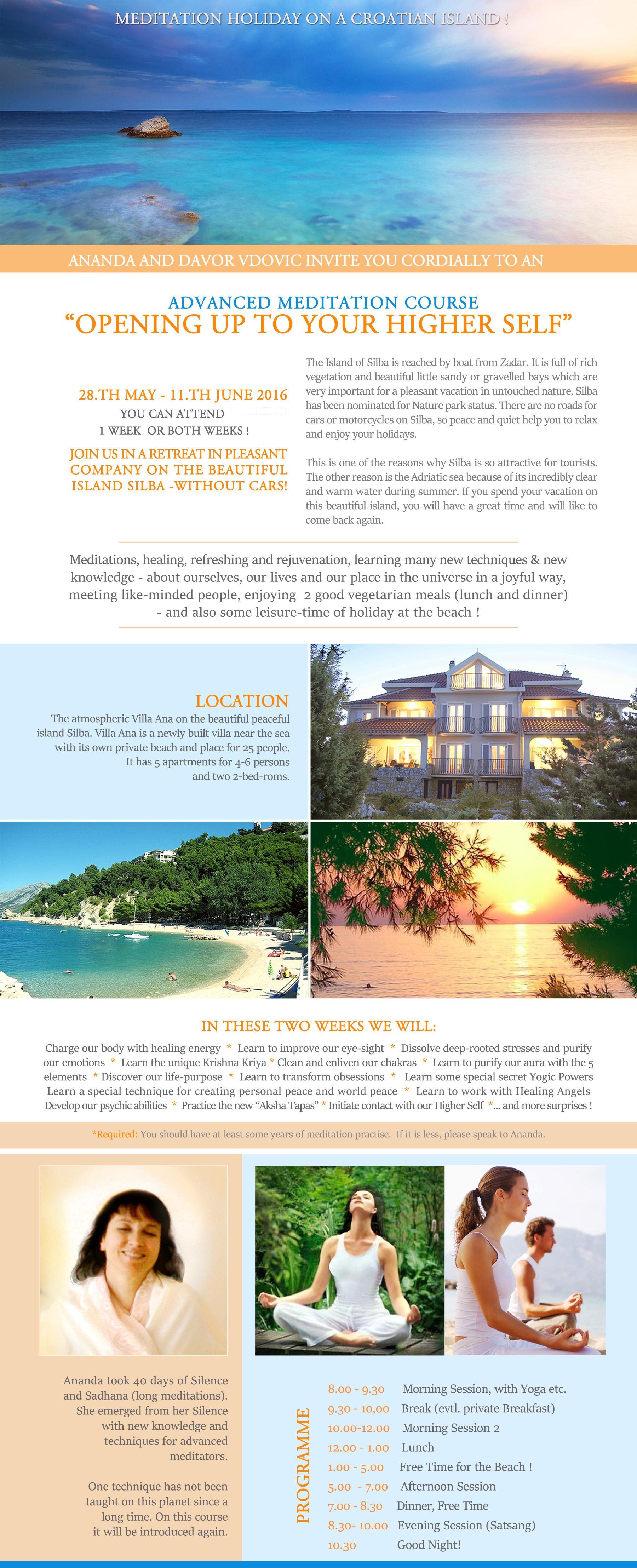 Advanced Retreat Silba Page 1